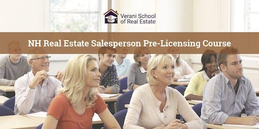 NH Real Estate Salesperson Pre-Licensing Course - Spring/Summer - Belmont (Evening)