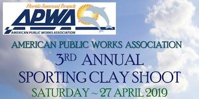 APWA 3rd Annual Sporting Clay Fundraiser