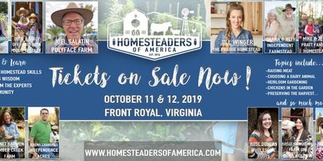 2019 Homesteaders of America Conference tickets