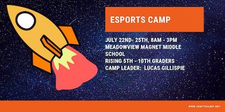 Ignite Camp 2019 - Esports Camp tickets