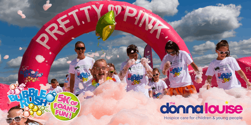 STOKE-ON-TRENT BUBBLE RUSH - 5K FOAMY FUN RUN!