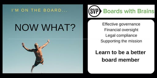 BwB I: I'm On The Board . . . Now What?