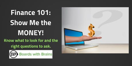 """BWB: """"Finance 101: Show Me the Money!"""" tickets"""