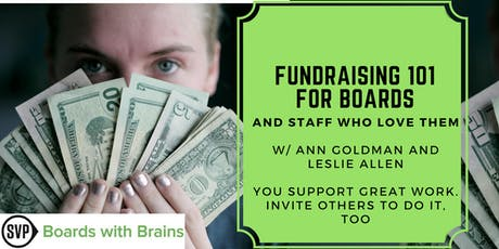 """BWB: """"Fundraising 101 for Boards & Staff Who Love Them"""" tickets"""