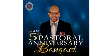 Pastor Moore 5th Anniversary Banquet tickets