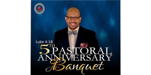 Pastor Moore 5th Anniversary Banquet
