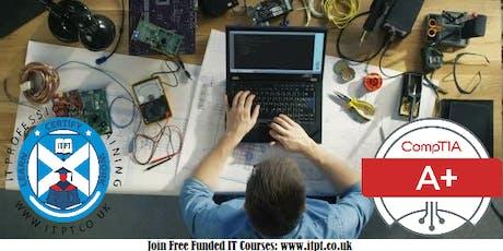Free CompTIA A+ (Gateway to IT) Course @ Edinburgh on Sundays tickets