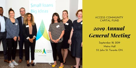ACCESS 2019 Annual General Meeting tickets