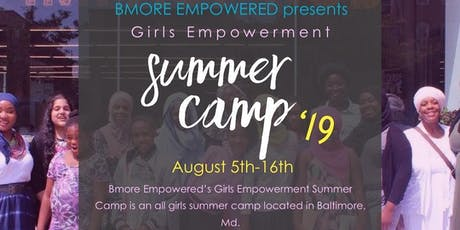 Bmore Empowered Summer Camp for Girls tickets