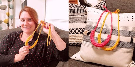 [Blend Coffee Co] Knitting Necklaces Workshop tickets