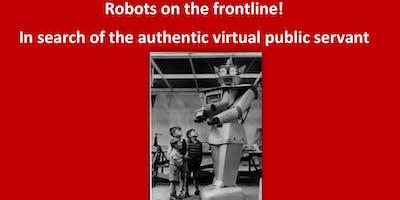 Robots Frontline In Search Authentic Virtual Public Servant