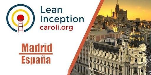 Formación Lean Inception en Madrid (1369 R$ = 300 EUR)*