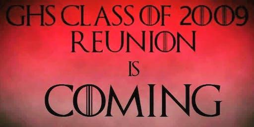 GHS Class of 2009 Reunion