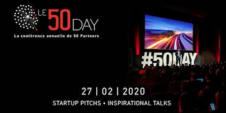 50 Day 2020 : Pré-inscriptions billets