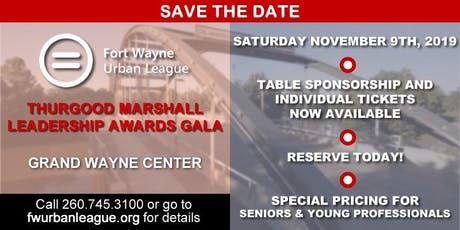 2019 Thurgood Marshall Leadership Awards Gala tickets