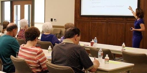 Parkinson's Information Session
