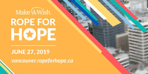 Rope for Hope Vancouver