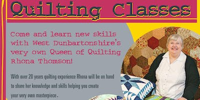Quilting Classes - 4 week block