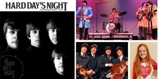 Hard Day's Night - a tribute to the Beatles w/ special guest Evie Mae