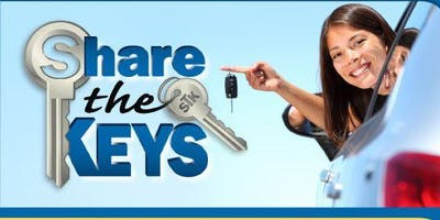 SHARE THE KEYS - Tuesday, May 21, 2019, Required Student Parking Permit Workshop
