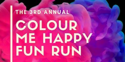 3rd Annual Colour Me Happy Fun Run