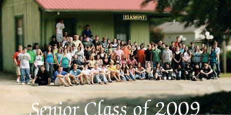 Elkmont High School 2009 Class Reunion tickets