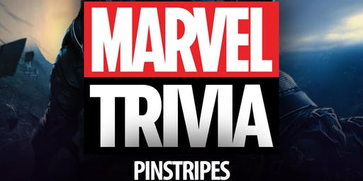 Marvel Cinematic Universe Trivia at Pinstripes Northbrook