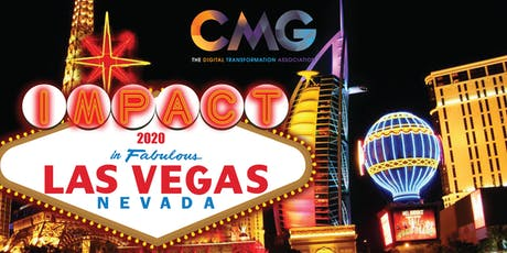 IMPACT 2020: Join CMG in Fabulous Las Vegas tickets