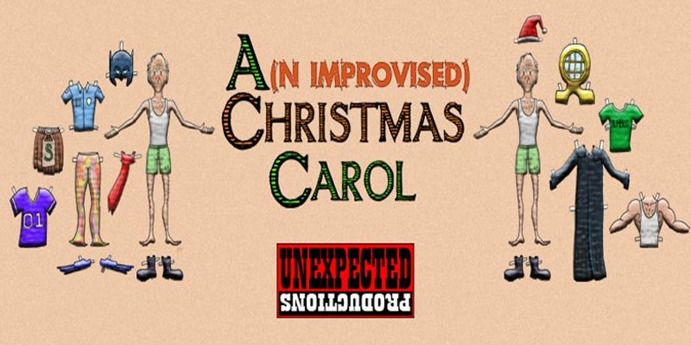 Seattle Christmas Events 2019.A N Improvised Christmas Carol 2019 Tickets Multiple Dates