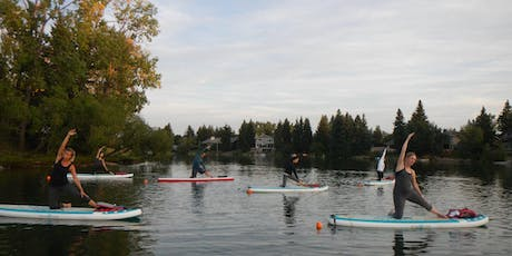 SUP (Stand Up Paddleboard) Yoga at the Lake 2019 tickets
