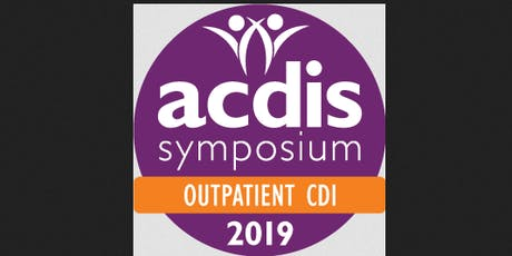 ACDIS Symposium Outpatient CDI Conference (blr) S tickets