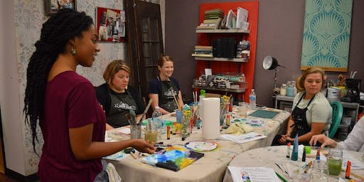 Abstract Process Painting Workshop (With Arielle Austin)