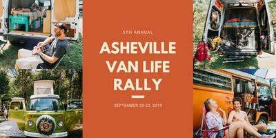 5th Annual Asheville Van Life Rally 2019