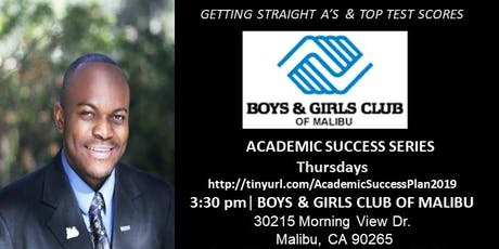 Support A Child Complete 6-Week Academic Success Series at Boys & Girls Club Of Malibu tickets