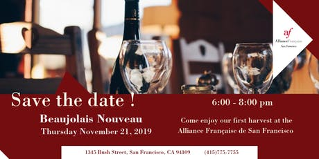 Beaujolais Nouveau 2019 at Alliance Française tickets
