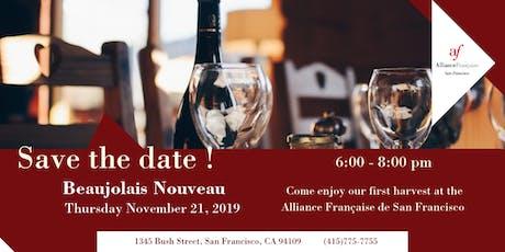 Beaujolais Nouveau 2019 at Alliance Française tickets