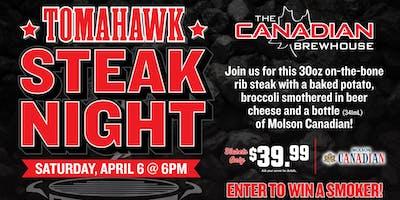 Tomahawk Steak Night (Grande Prairie)