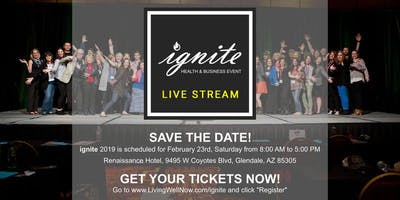 Ignite 2019 - Recording Only - Health & Business Event