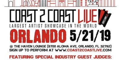 Coast 2 Coast LIVE Artist Showcase Orlando, FL - $50K Grand Prize
