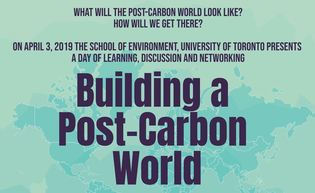 Building a Post-Carbon World Symposium