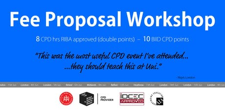 Edinburgh Fee Proposal Workshop tickets