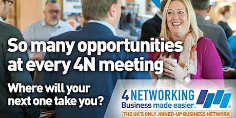 4Networking Taunton - Business Networking Breakfast Meeting in Taunton tickets