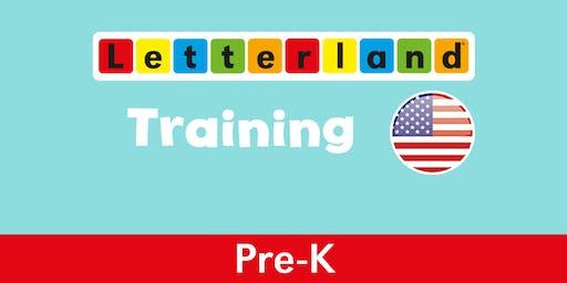 Pre-K Letterland Training-  Newton, NC