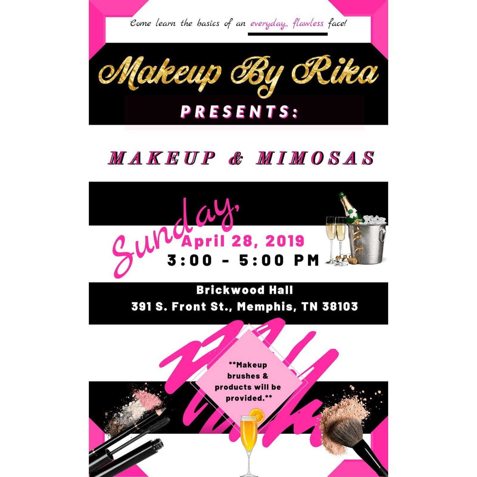 Makeup and Mimosas Class
