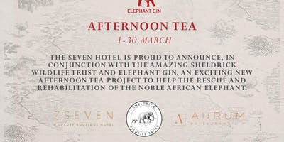 Elephant Gin Afternoon Tea in support of Sheldrick Wildlife Trust