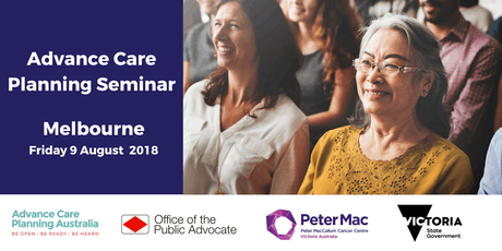 Advance Care Planning Seminar - Melbourne, Victoria tickets