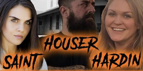 Malvern Manor Investigation with Saint, Houser and Hardin tickets