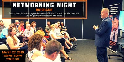2nd Brisbane Networking Night: Come Along And Join Like-Minded Business Owners