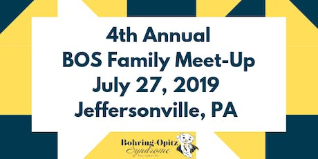 4th Annual BOS Family Meet-Up tickets