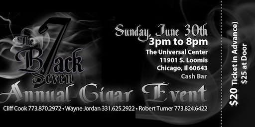 B7ack Seven Annual Cigar Event